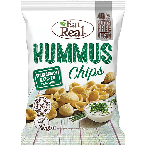 Hummus Chips Sour Cream 24g