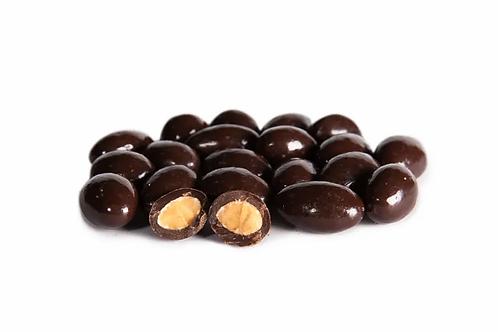 Mandeln schokoliert in Zartbitterschokolade