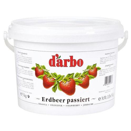 DARBO Erdbeer Fruchtaufstrich Kalorienreduziert 5kg Eimer