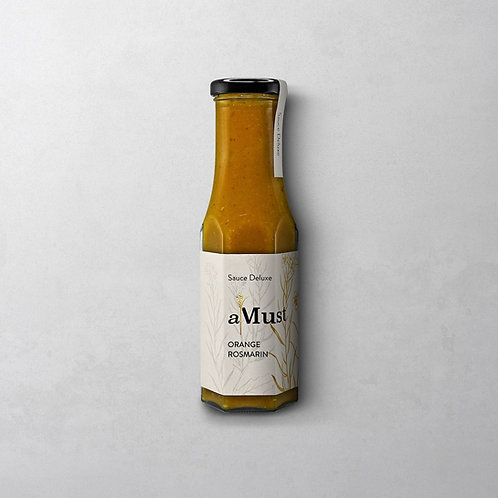 aMust Orange Rosmarin Sauce | Wajos 250 g