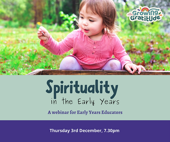 Spirituality in the Early Years website
