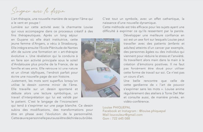 article Esprit sud magazine - accompagnement psychologique en expatriation