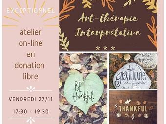 Art-thérapie et Gratitude