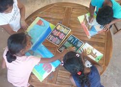 atelier enfant - art thérapie
