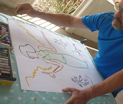 séance adulte d'art-thérapie - Guyane