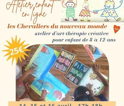 Atelier enfant - art-thérapie créative