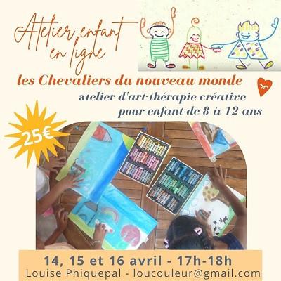 art-thérapie pour enfant - atelier en ligne - les 4 accords toltèques
