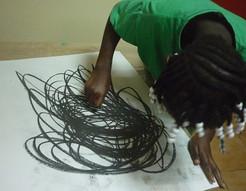 séance enfant - art thérapie Guyane