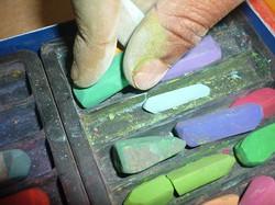 pastels secs - art thérapie interprétative