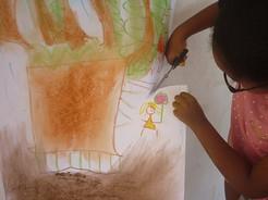 séance individuelle enfant - art thérapieGuyane