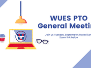 WUES PTO General Meeting 9/21