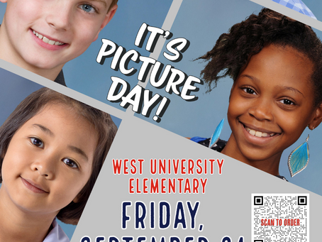 Smile! Picture Day is Coming up - Friday, September 24th!