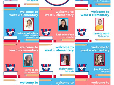 Meet the new teachers & staff at WUES!