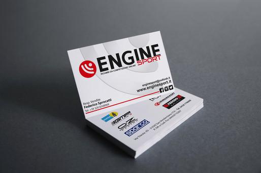 Biglietti da visita Engine Sport