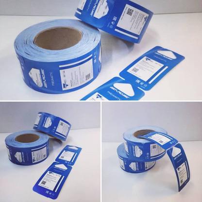 etichette in bobina