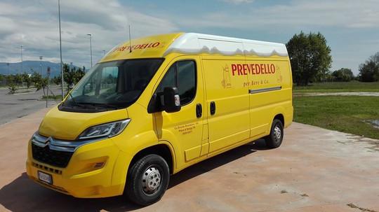 Idea&Grafica | rivestimento furgone Prevedello
