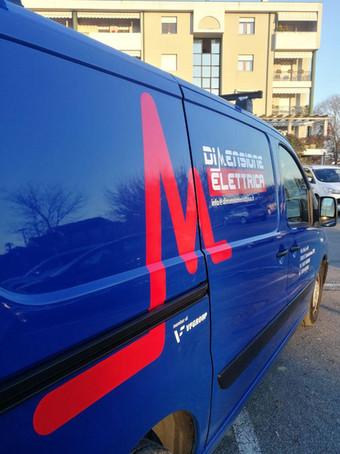 Idea&Grafica | prespaziato furgone Dimensione Elettrica