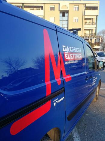 Idea&Grafica   prespaziato furgone Dimensione Elettrica