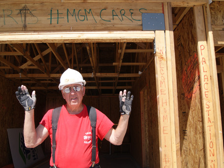"""Pete """"The Saw Man"""" - You're Never Too Old to Volunteer"""