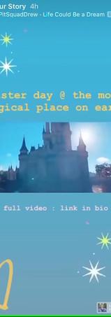 Disney In A Day Instagram Story