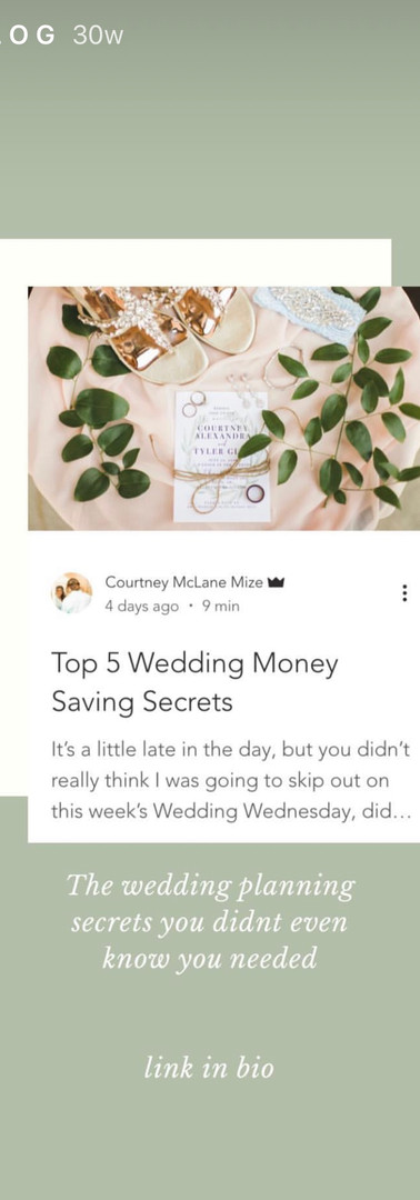 Blog Instagram Story