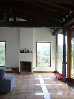 Creación de salón en vivienda