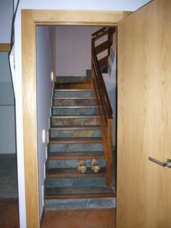 Creación de escaleras en vivienda