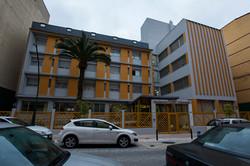 Fachada Residencia Arbolada
