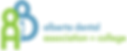 Alberta Dental Association and College logo