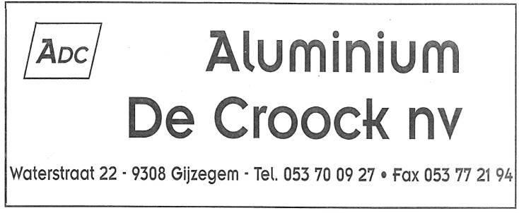 Alu De Croock BVBA