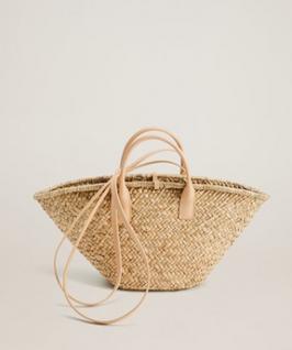 Mango Double Strap Basket Bag