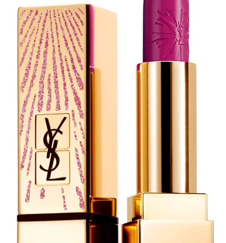 Available at https://shop.nordstrom.com/s/yves-saint-laurent-rouge-pur-couture-dazzling-lights-lipstick-limited-edition/4732943?origin=topnav&cm_sp=Top20Navigation-_-Holiday20Gifts-_-Luxe20Gifts
