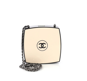Chanel Compact Powder Minaudiere Plexiglass