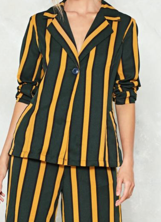 Available at http://www.nastygal.com/hit-the-stripe-note-blazer/AGG94506.html