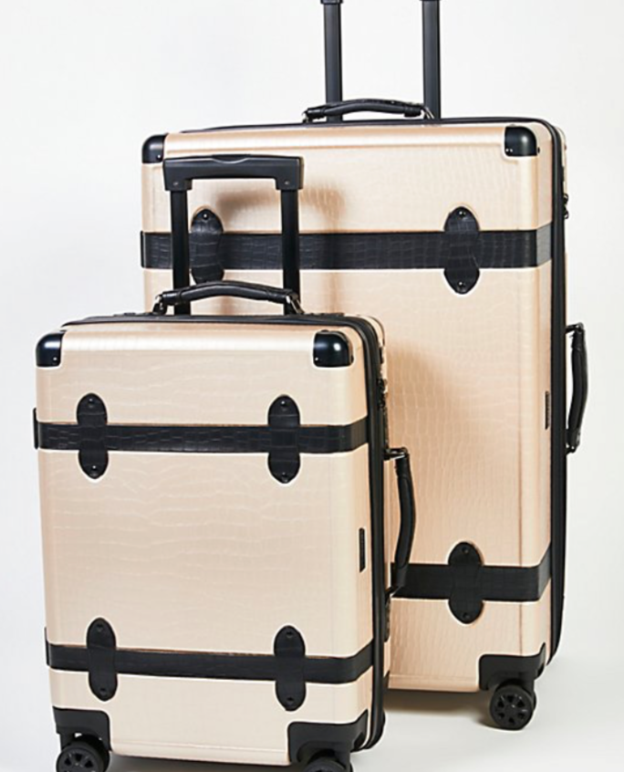 Available at https://www.freepeople.com/shop/trunk-2-piece-luggage-set/?category=bags&color=014