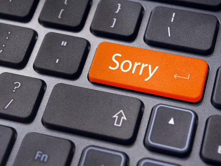 4 Steps to a better Sorry