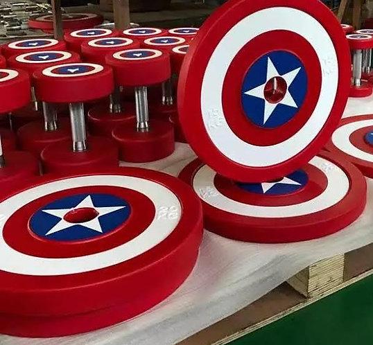 Captain America Plate