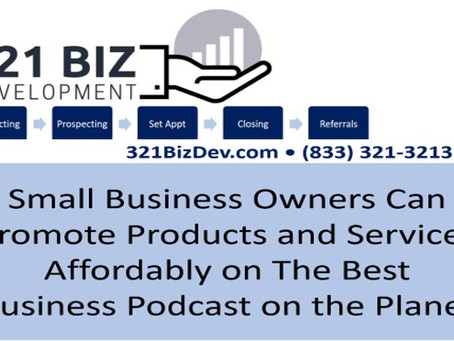 Feature Your Small Business on the 321 Biz Dev Podcast (English or Spanish)