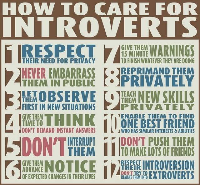 With an Introvert?