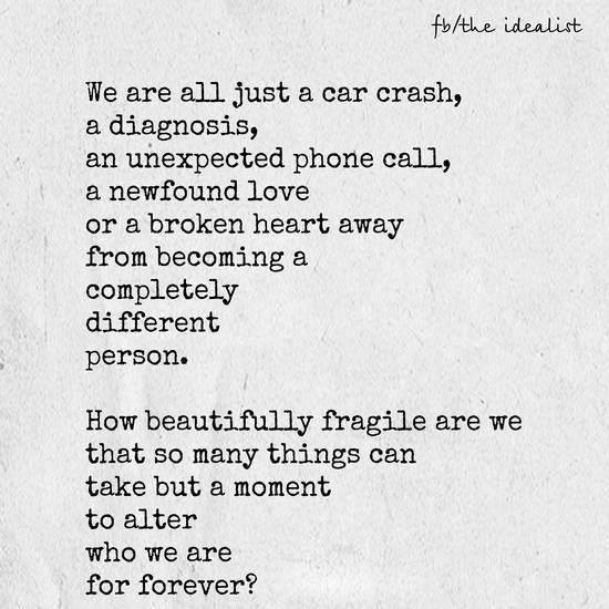 Beautifully Fragile?