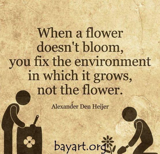 Nurture that Little Flower!