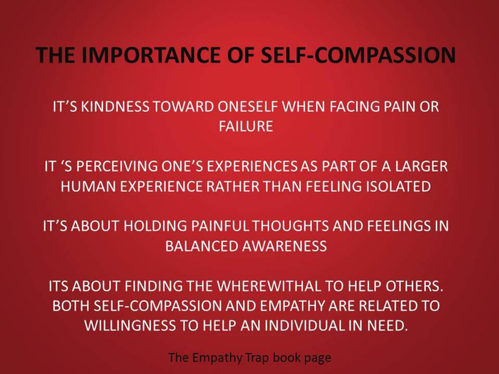 How self-compassion helps others.