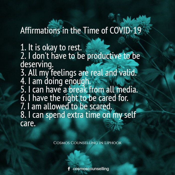 Affirmations in the Time of COVID-19