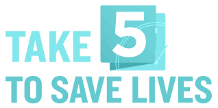Take 5 to Save Lives
