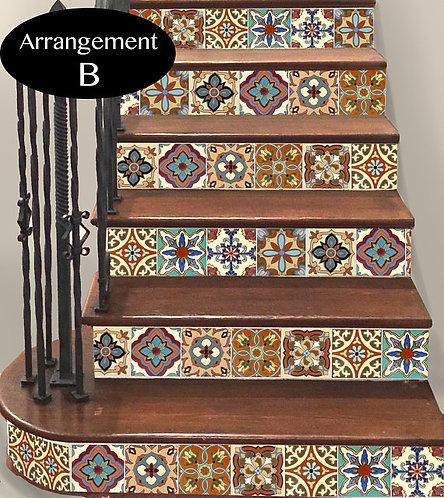 Spanish/Mexican Steps TR003B
