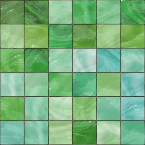 Green Mosaic MS001