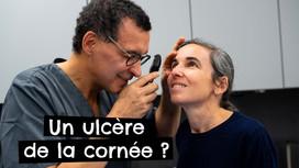 Un ulcère de la cornée ?