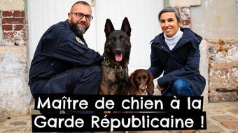 Maître de chien à la Garde Républicaine !
