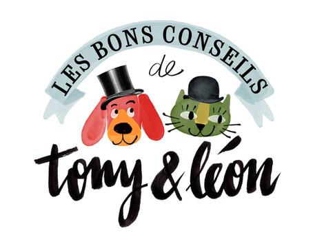 Nouveau site pour Tony & Léon !