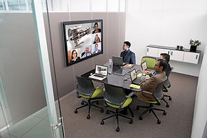 huddle space video conference